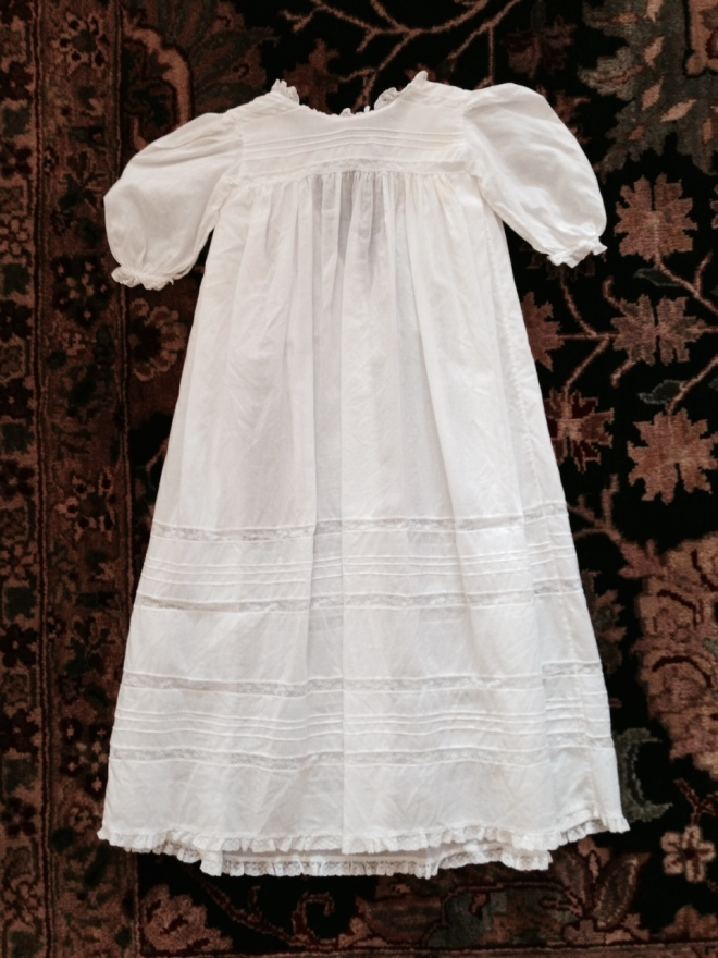 Christening Gown made by Joan Young Russick