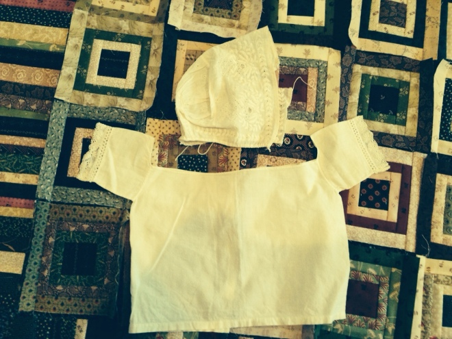 Heirloom baby clothes