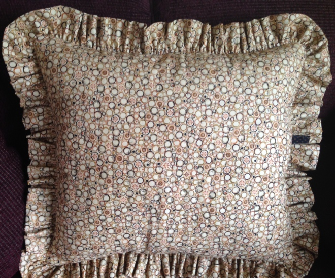 Pillow back - finished