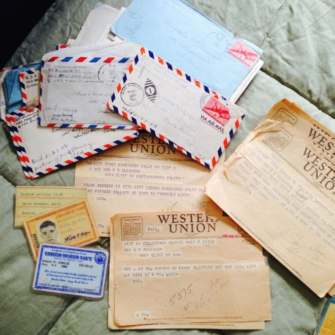 Wartime telegrams
