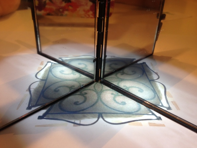 Chairback 45 degree angle