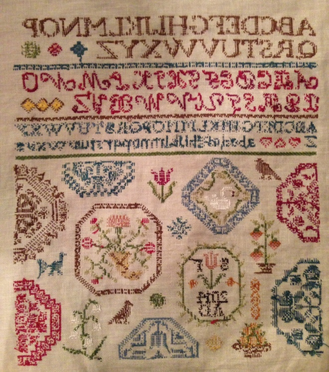 Finished Sampler Back